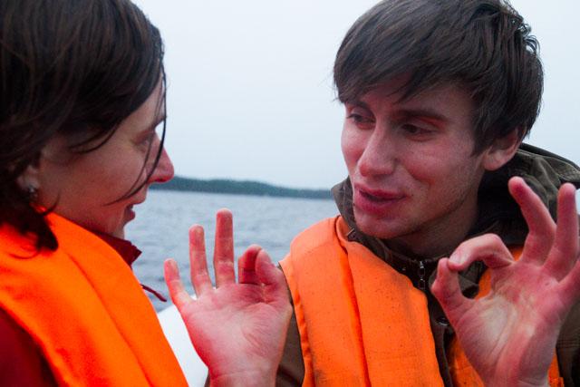 Илья втирает Наде