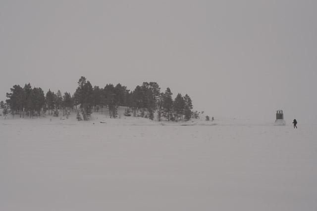 Путсаари зимой
