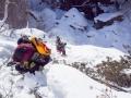 """""""эвакуация"""" из каньона безымянного притока р. Илокалуй."""