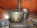 печка в тамбуре