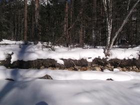 Мало снега в долине Илокалуя