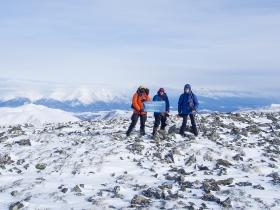 Вид с вершины 2040 на Верхнеангарский хребет